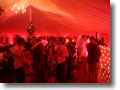 Your Wedding Disco provide DJ and all sound and lighting for  a wedding in the marquee at Le Talbooth, Dedham