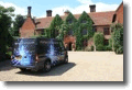 Your Wedding Disco - Our team arrive at Woodhall Manor, Ipswich
